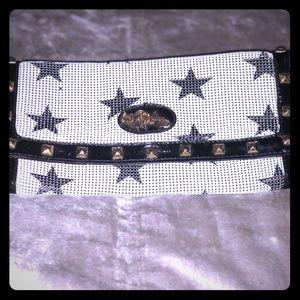 Betsy Johnson Metal Star Clutch